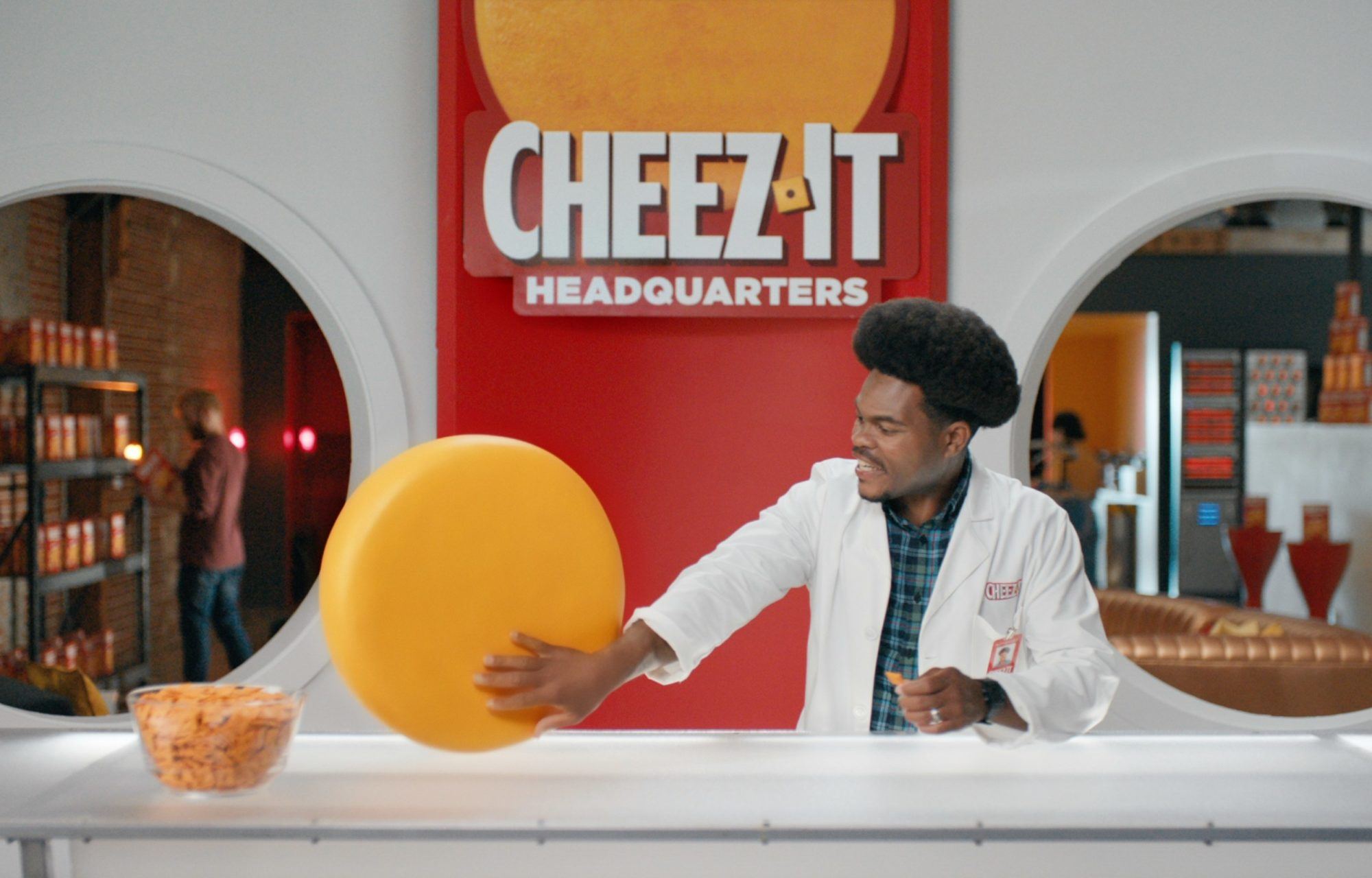 Cheez-It - No-Mouth